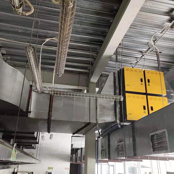宝恒环保油烟净化工程——工业厨房油烟净化工程案例